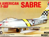 Minicraft/Hasegawa 1/72 1015 North American F-86F Sabre