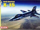 Dragon Models 1/144 4631 North American X-15