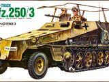 Hasegawa/ESCI 1/72 MB-137 Sd.Kfz.250/3