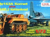 Aerodrom 1/72 EP06 Me163A Komet plus Sd.Kfz.2 Kettenkrad