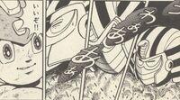 PharaohMan-derrotado-Ikehara