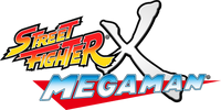Street Fighter X Mega Man logo