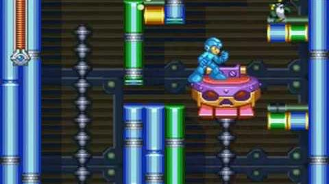 Mega Man & Bass - Magic Man Stage Nighttime Carnival (Mega Man)