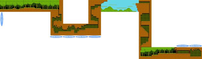 WoodMan-Mapa