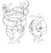 Cyber Elf X Helmet Reference by nailthehedgehog