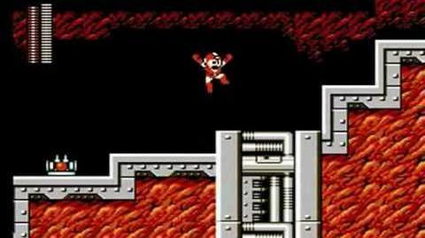 Mega Man 6 - Flame Man Stage Oil Field
