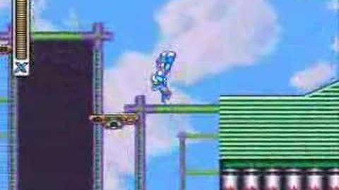 Mega Man X-Storm Eagle