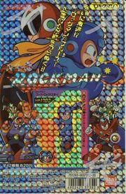 Portada de cartas de Rockman 3