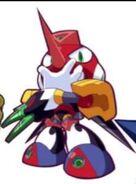 Tengu man powered up