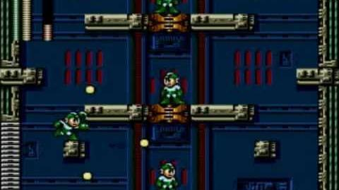 Mega Man The Wily Wars (Mega Man 3) - Wily's Fortress Stage 3