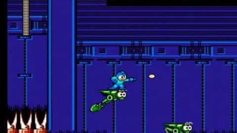Mega Man 4 - Bright Man's Stage