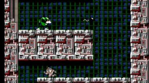 Mega Man 3 - Wily's Fortress Stage 3