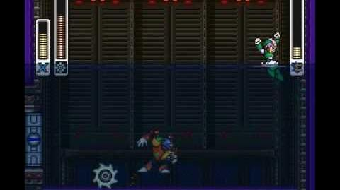 Mega Man X2 - Bubble Crab Stage Deep-Sea Base