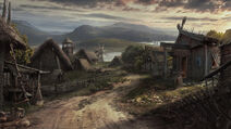 Viking village by drake1024-d8926p6