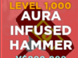 Aura Infused Hammer