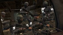 BPC Commando's Leading Troops