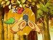 EP500 Pokémon comiendo miel