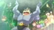 EP839 Machamp y Pokémon del bosque