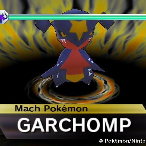 Garchomp en <a href=