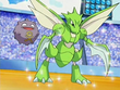 EP519 Koffing y Scyther