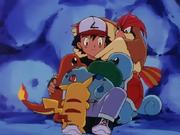 EP066 Pokémon de Ash abrazándole (1)