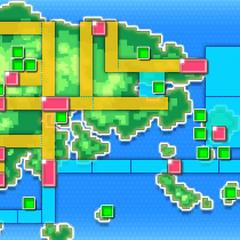 Mapa de Hoenn en <a href=