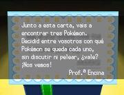 Regalo de la Profesora Encina