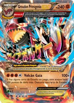 Carta de Groudon
