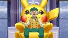 EE16 Frank en su sillón Pikachu