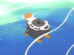 EP369 Torkoal nadando