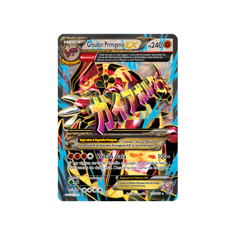 Groudon Primigenio-EX full art