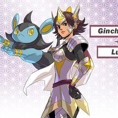Ginchiyo y su Luxio