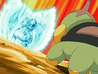 EP487 Turtwig VS Rampardos