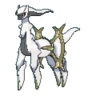 Arceus tipo roca XY