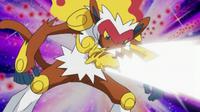 EP634 Pikachu usando Ataque rápido