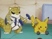 EP008 Sandshrew y Pikachu