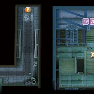 Zona sumergida de Malvamar, incluyendo la sala de maquinaria.