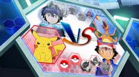 EP934 Pantalla del combate de Ash y Alain (1)