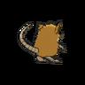 Raticate espalda G6