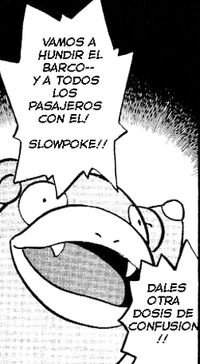 Slowpoke haciendo confusion