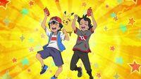 EP1092 Ash y Go con SmartRotom