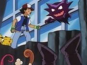 EP024 Ash, Haunter y Team Rocket