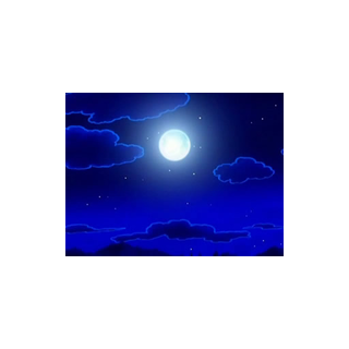 Durante una noche de luna llena...