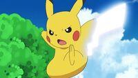 EP1055 Cola férrea usado por Pikachu