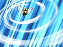 EP467 Ninjask de valente generando tormenta arena