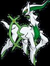 Arceus tipo planta (dream world)