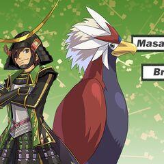 Masamune y su Braviary