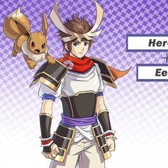 El protagonista con Eevee