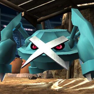 Metagross en Super Smash Bros. Brawl.