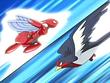 EP406 Scizor y Swellow usando ataque rápido